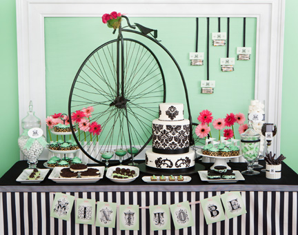 particular is using mint green as the base of your wedding color scheme